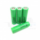 18650 Samsung INR18650-25R 2500mAh Flat Top 4 pack